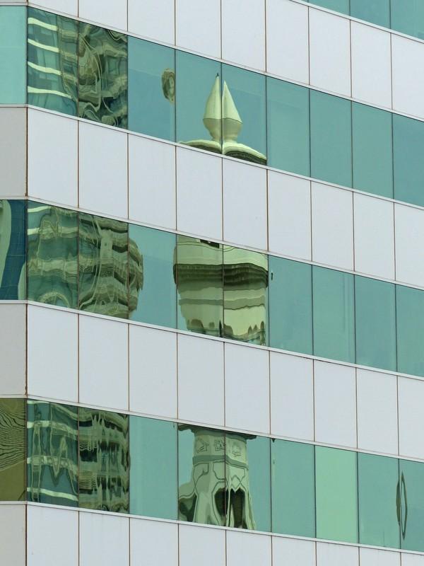 Abu Dhabi reflection