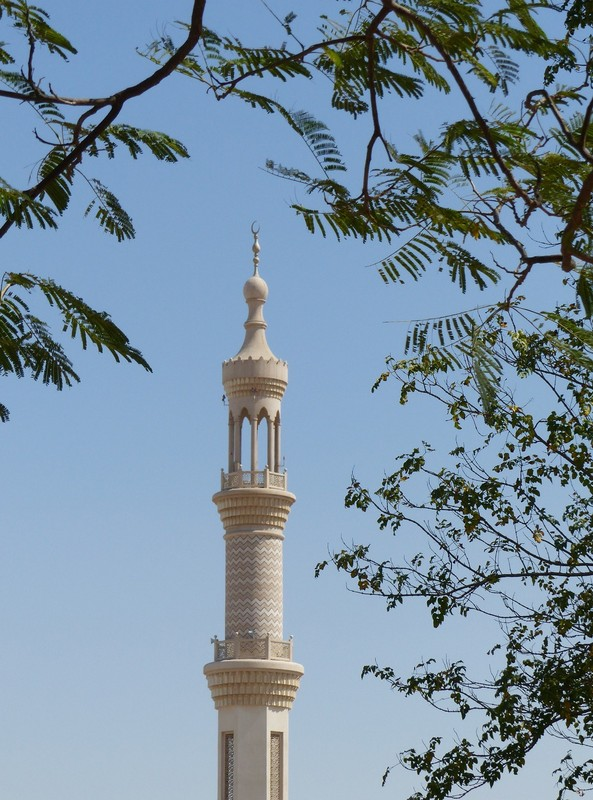Mosque in Al Bahia, Abu Dhabi