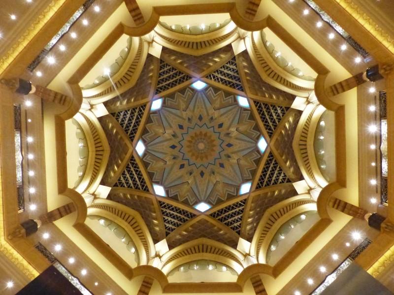 Dome of the Emirates Palace hotel, Abu Dhabi