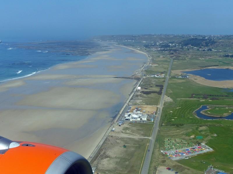 Landing in Jersey