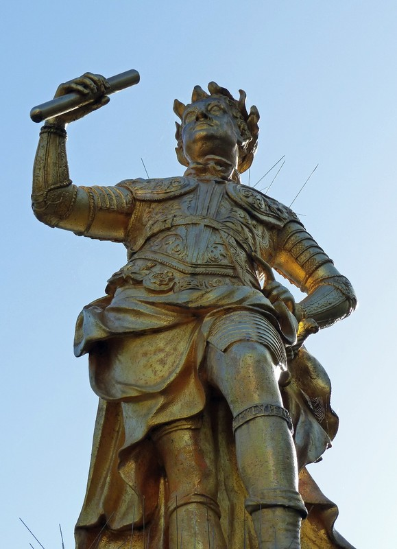 Statue of George II, Royal Square, St Helier