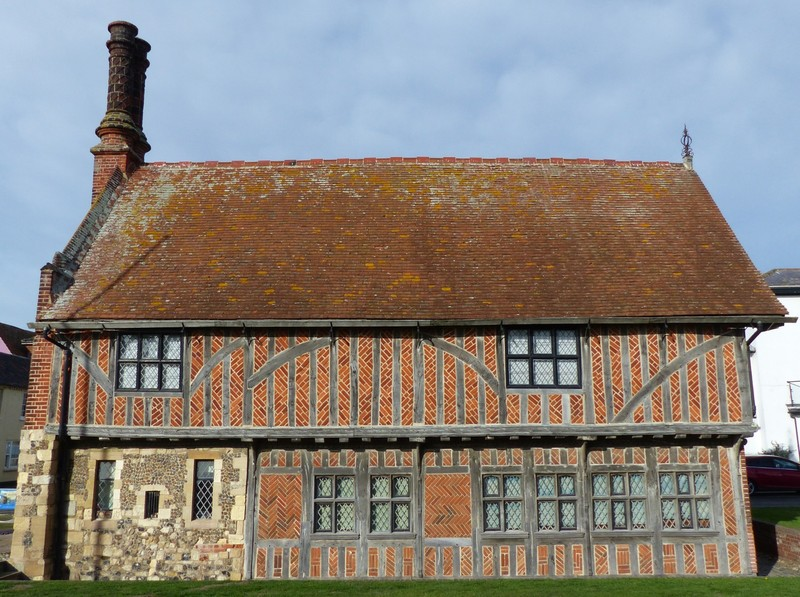 Moot Hall (now a museum), Aldeburgh