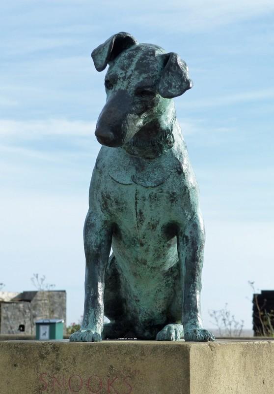 Snooks the dog, Aldeburgh