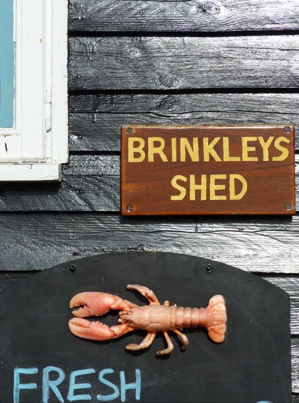 Fishing hut, Orford Quay