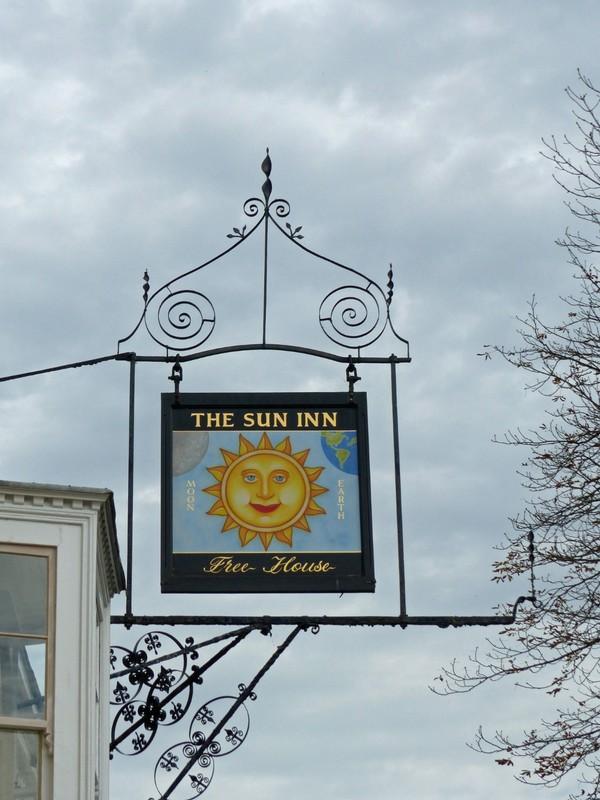 Pub sign, Dedham