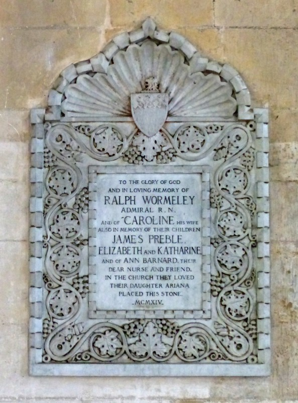 Memorial in St. Mary the Virgin, Dedham