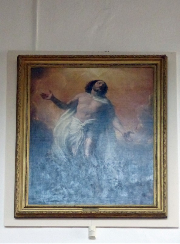 'The Ascension' by Constable, St. Mary the Virgin, Dedham