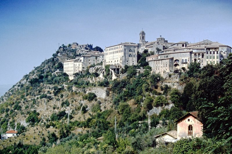 View of the town from Via Caio Mario, Arpino