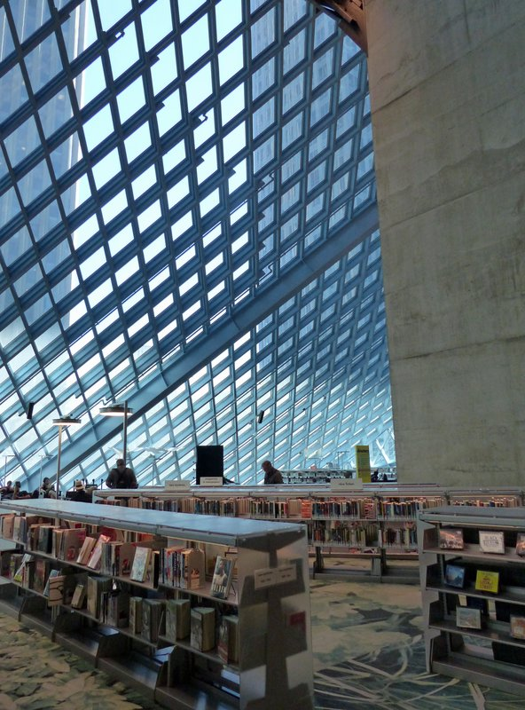 In Seattle Central Library