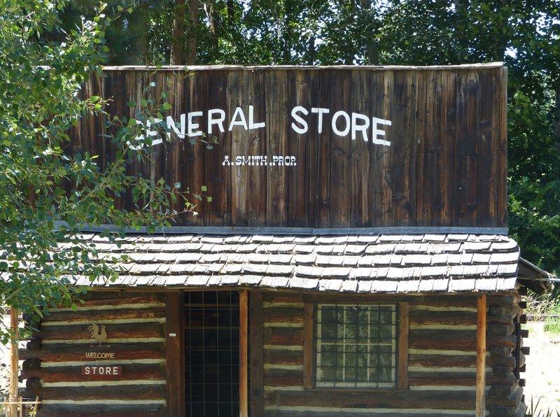 Pioneer Village, Cashmere WA - general store