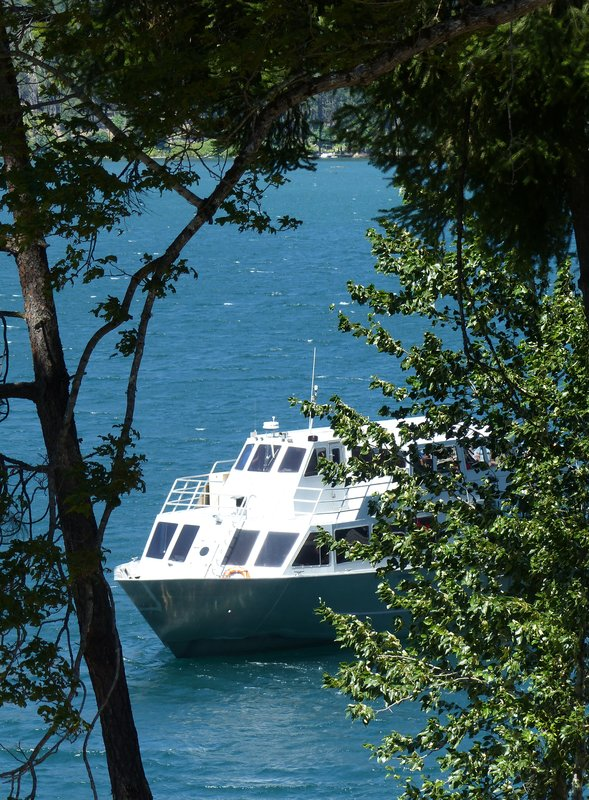 Lady Express at Stehekin, Lake Chelan, WA