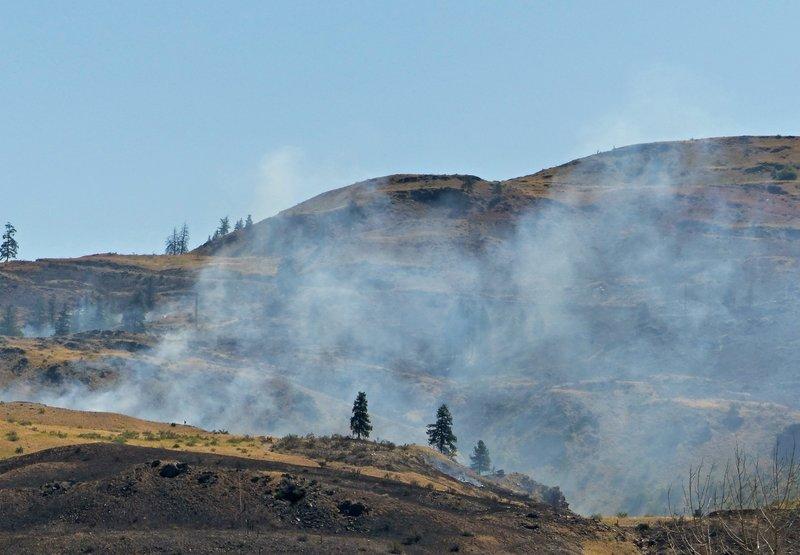 Wild fire near Carlton, WA
