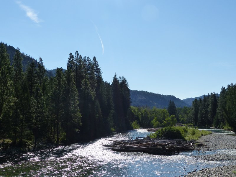 River Methow near Mazama