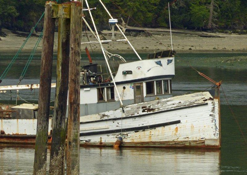 Boat in Cornet Bay