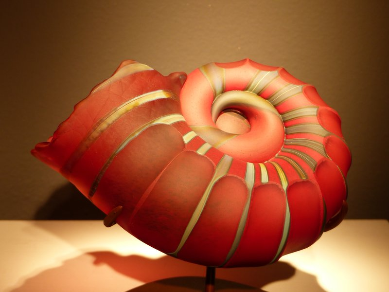 Ammonite by Kelly O'Dell, Museum of Northwest Art, La Conner
