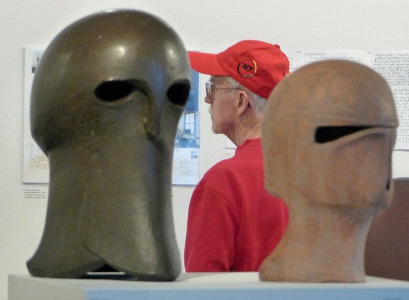 Sculptures by Clayton James, Museum of Northwest Art, La Conner