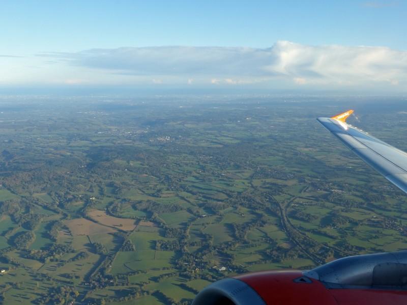 Over southern England