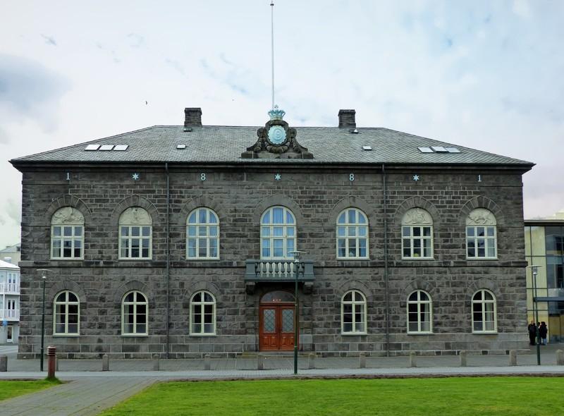 Parliament building, Reykjavik