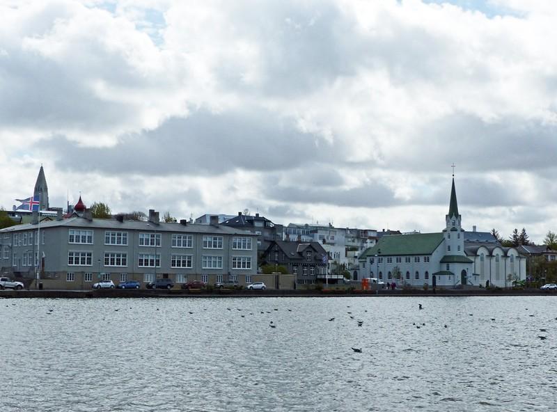Tjörnin Pond, Reykjavik