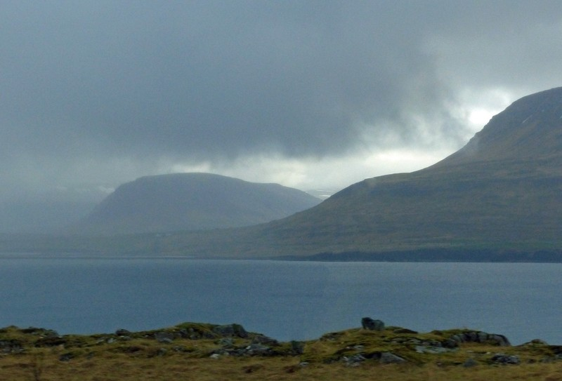On the bus to the Snaefellsnes Peninsula