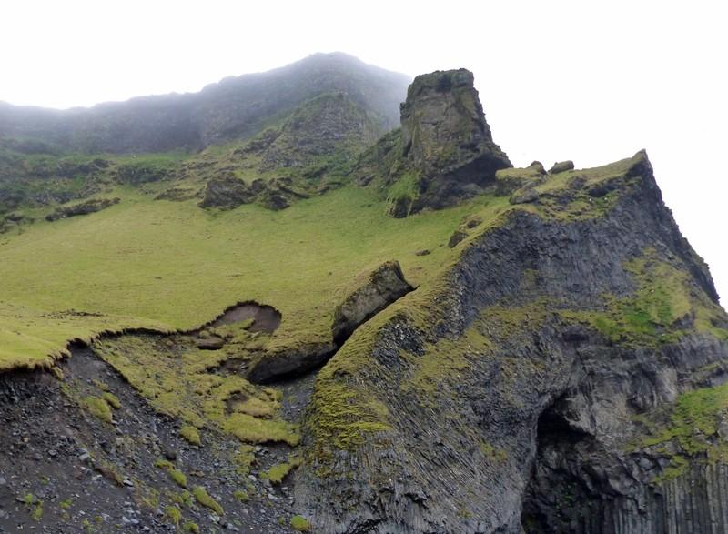 The cliffs at Reynisfjara 1