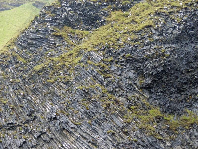 Basalt cliffs at Reynisfjara