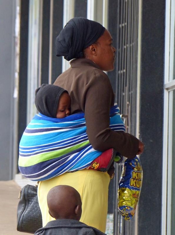 Local family, Victoria Falls, Zimbabwe