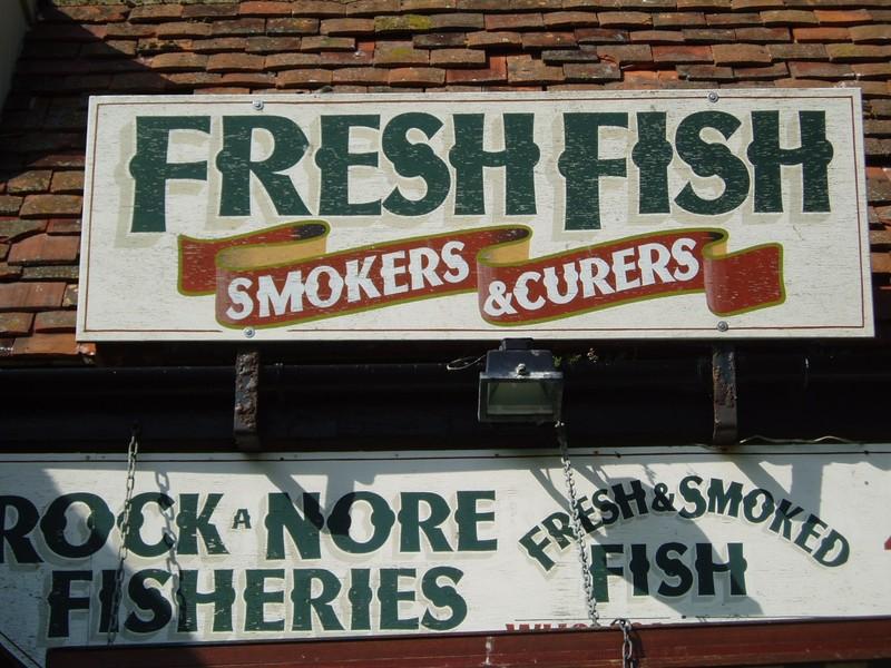 Hastings Stade fish shop