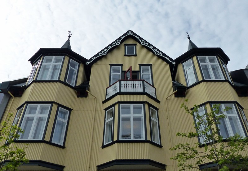 Reykjavik old town architecture