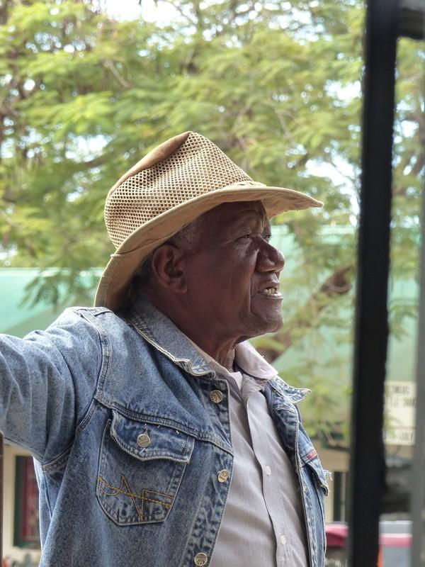 Local man, Victoria Falls, Zimbabwe