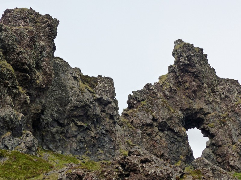 Rock formations, Nautastígur