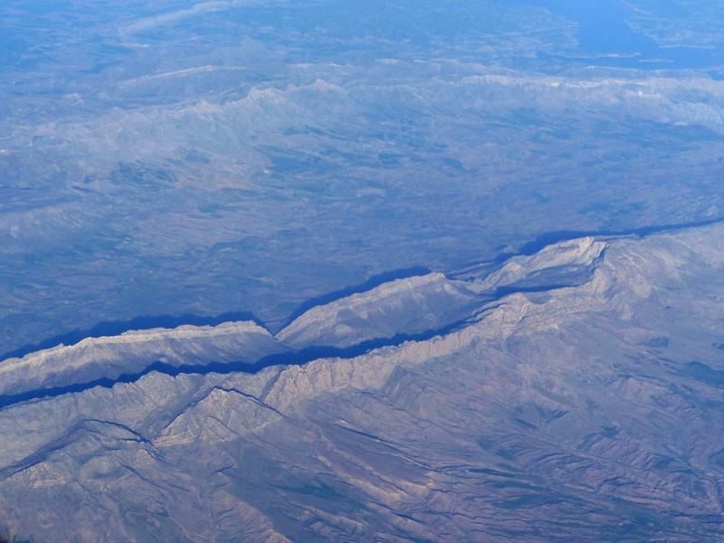 Landscape over Iraq