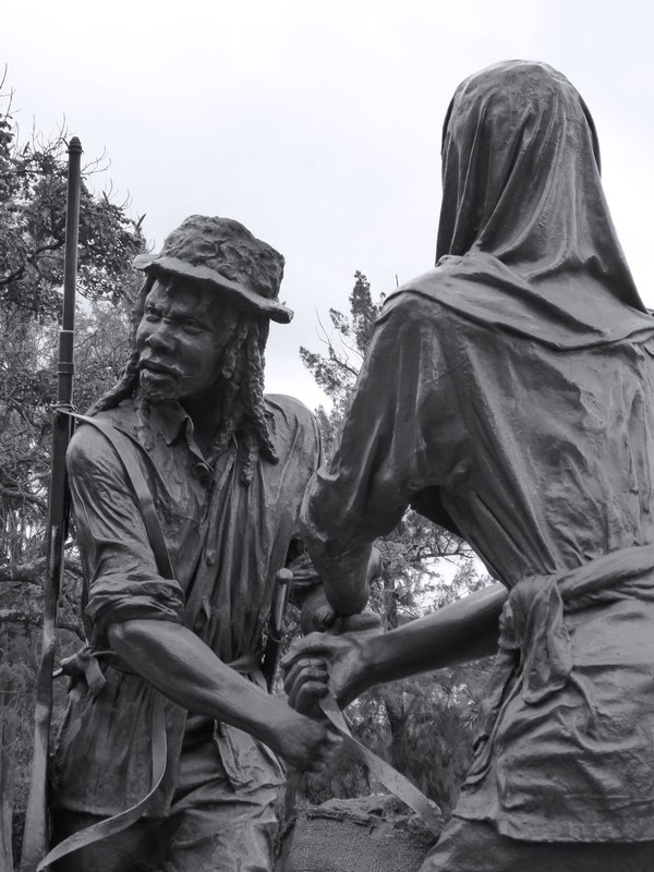 Memorial to the 'victims of torture and ill-treatment during the colonial period', Uhuru Park, Nairobi