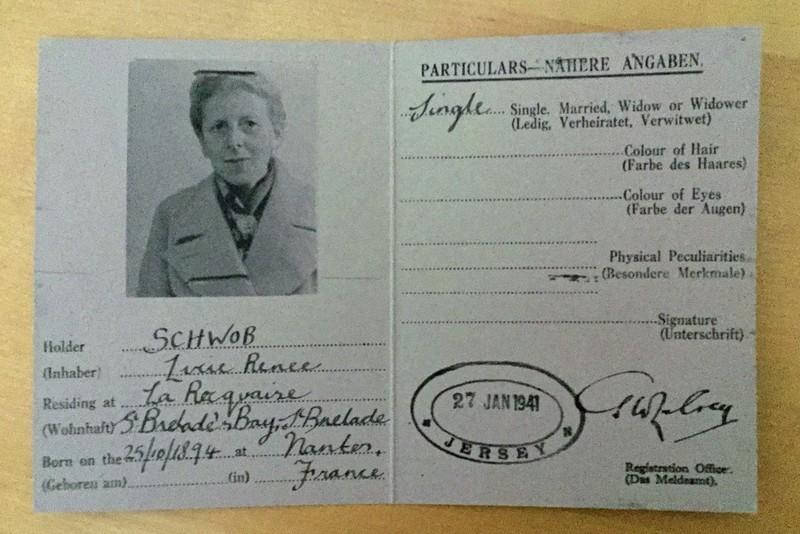 Replica ID card, Jersey War Tunnels