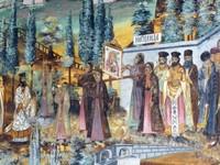 Panorama fresco at Bachkovo Monastery