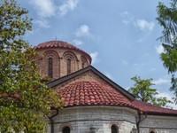 Bachkovo Monastery in sunlight
