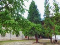 Far courtyard of Bachkovo Monastery