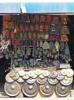 Craft stall in the market, Siem Reap