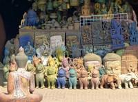 Souvenir stall, Siem Reap
