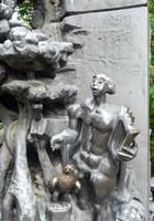 Sculpture near Einstein restaurant, Sofia