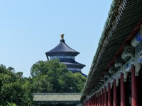 Temple of Heaven - Hall of Prayer for Good Harvests from the Long Corridor