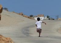 In a Wadi Tiwi village