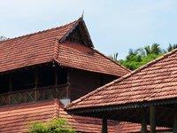 Old roof tops, Travancore Heritage Hotel