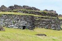 Houses at Orongo, Rapa Nui