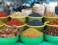 In Samarkand Bazaar
