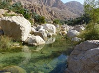 River through Wadi Tiwi