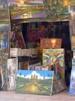 Art shop, Siem Reap