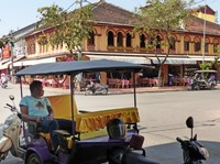 Street corner in Siem Reap