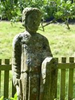Statue of St Paulinus, Lady's Well