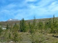 First sight of Mount Paektu